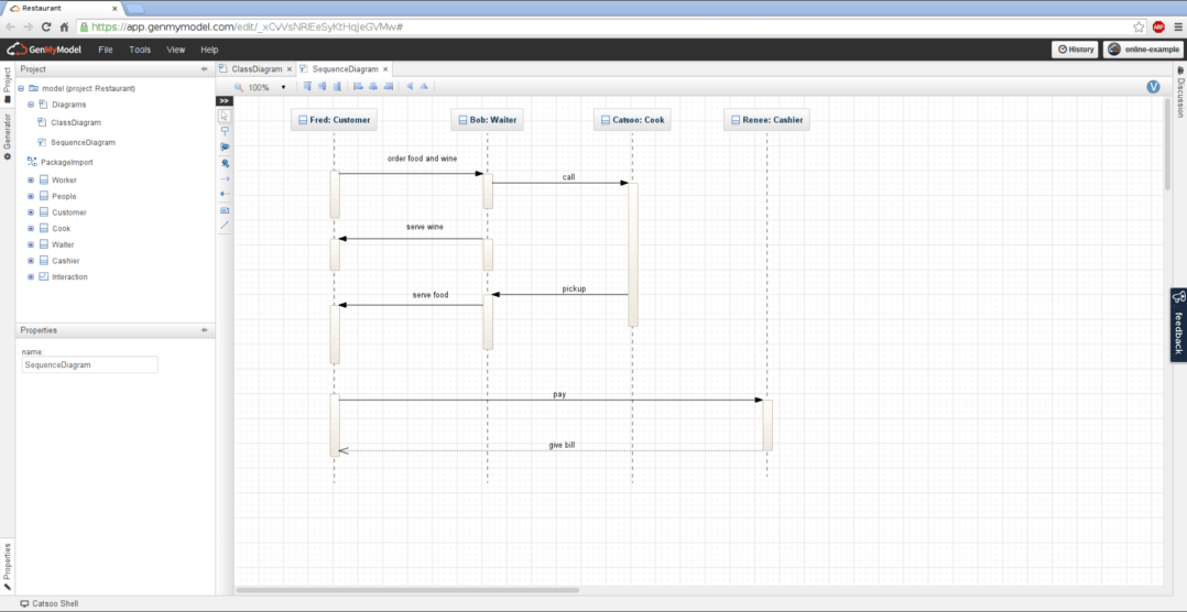 Sequence Diagram Online Draw Uml Sequence Diagrams