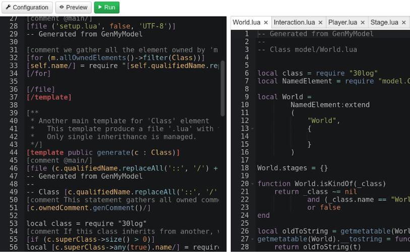 uml code generation